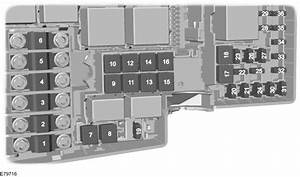 Ford C-max Mk1  2003 - 2010  - Fuse Box Diagram  Eu Version