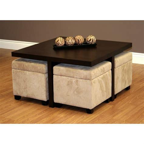 meuble encastrable cuisine la table basse avec pouf pour un style de vie moderne archzine fr