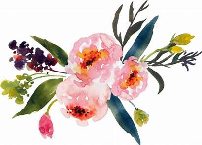 Flower State Flowers Watercolor Clipart Pine Patch