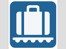 Baggage Claim Emoji for Facebook, Email & SMS ID# 8075