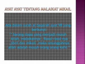 Powerpoint Malaikat Jibril & Mikail