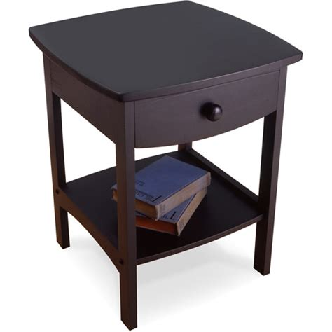 walmart furniture end tables curved nightstand end table walmart com