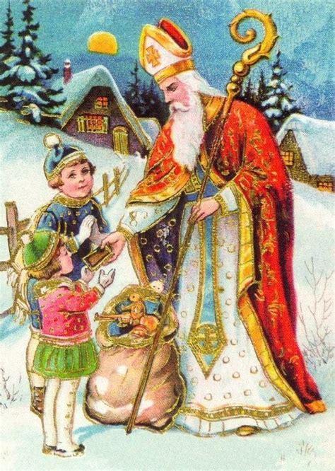 besten nikolaus bilder auf pinterest weihnachten