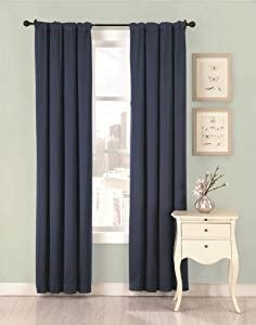 Amazoncom Silk Allure Interlined Drapery Panel, Indigo