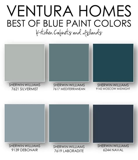 sherman williams colors on the ventura homes best of blue paint colors