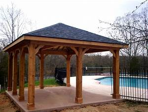 Pdf free standing wood patio cover plans plans free for Free standing wood patio covers