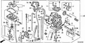 Honda Crf150f Carburetor Diagram