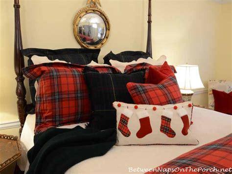 ralph lauren inspired tartan plaid bedroom