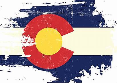 Colorado Flag Vector Clip Denver Pueblo Illustrations