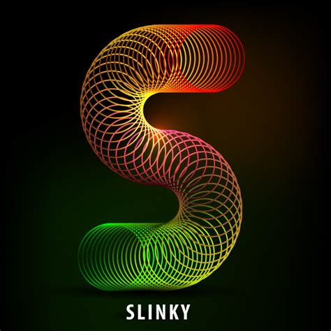 S Image by How To Create The Letter S In The Shape Of A Slinky