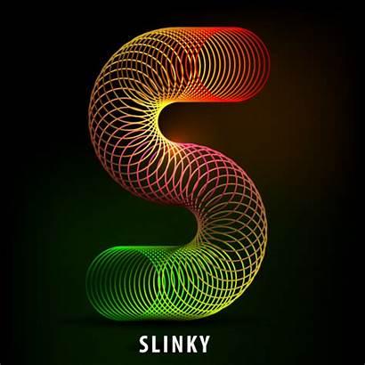 Slinky Letter Shape Toy Tutorial Create Illustrator