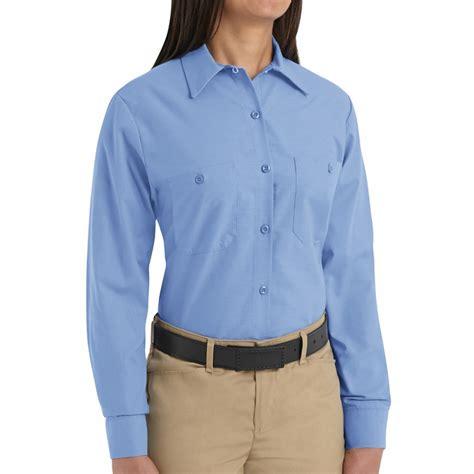 light blue sleeve shirt womens sp13lb s solid light blue sleeve industrial