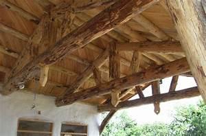 Holz Für Dachstuhl : dachstuhl mit rundstamm ~ Sanjose-hotels-ca.com Haus und Dekorationen