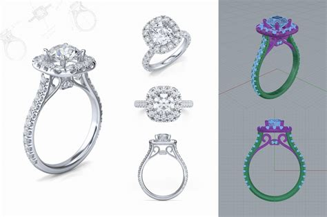 high end jewelry collection cad jewelry design and development