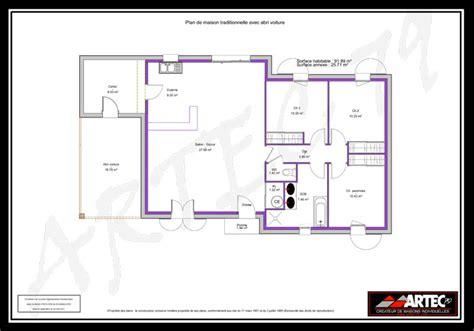 plan maison 4 chambres suite parentale plans de maisons constructeur deux s 232 vres