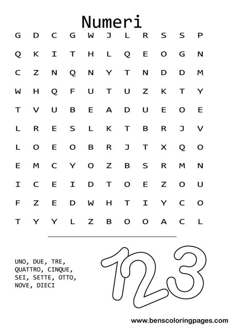 italian word for free coloring pages of pizza wordsearch