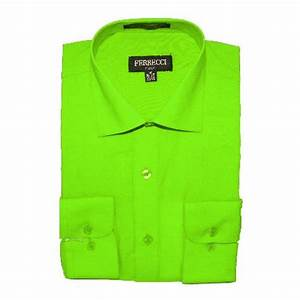 Lime Green Toddler Dress Shirt from Sears