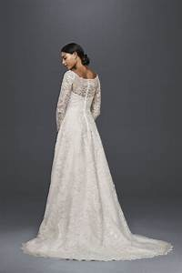 Beautiful all over lace long sleeve a line wedding dress for Wedding dress finder