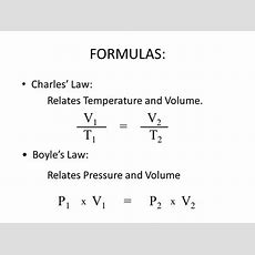 Boyle's Law And Charles' Law  Ppt Video Online Download