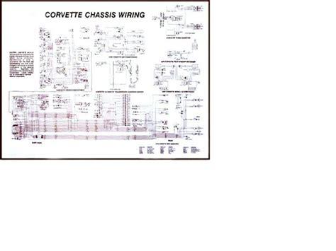75 Corvette Wiring Diagram by 1961 1962 Corvette Diagram Electrical Wiring