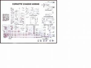 1973 Corvette Diagram  Electrical Wiring  Corvetteparts Com