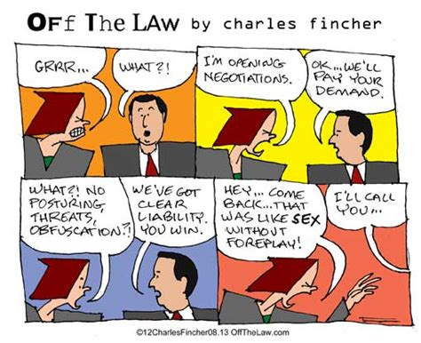 Lawcomix Blog Lawyer Cartoons By Charles Fincher, Esq