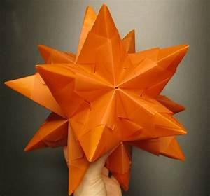 Bascetta Stern Anleitung : bascetta stern falten tutorial diy modulares origami ~ Frokenaadalensverden.com Haus und Dekorationen