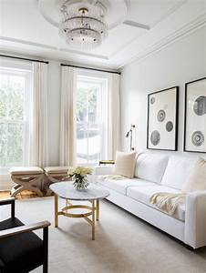 Cream, White, Living, Room, Design, Ideas, Renovations, U0026, Photos