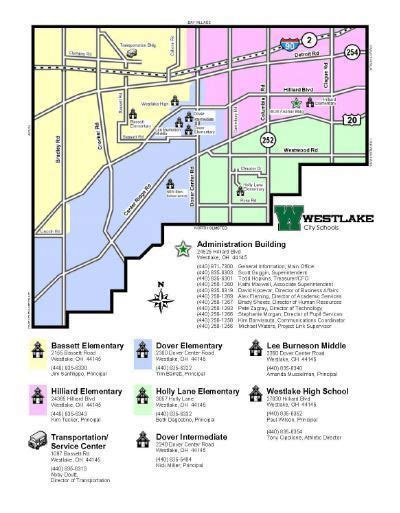 campus map westlake city school district