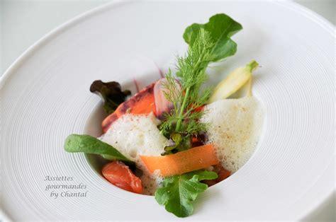 recette de cuisine gastronomique de grand chef salade et saumon gravlax recette de kei kobayashi