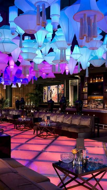 Club Neon Bar Lounge Night Lighting Architecture