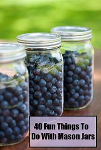 40, Things, To, Do, With, Mason, Jars