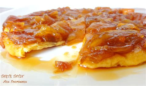 recettes de cuisine libanaise tarte tatin aux fourneaux