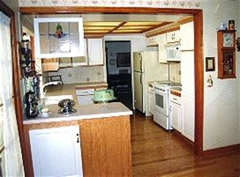 White & Natural Oak Kitchen From Homecraft Cabinets & Refacing
