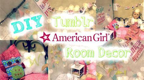 diy tumblr inspired room decor  american girl dolls