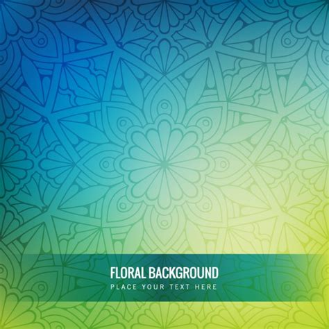 blue green background floral background vectors photos and psd files free