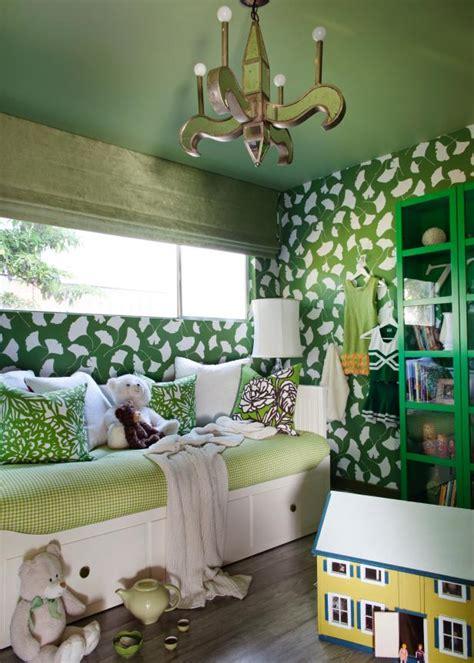 girls nature inspired bedroom hgtv