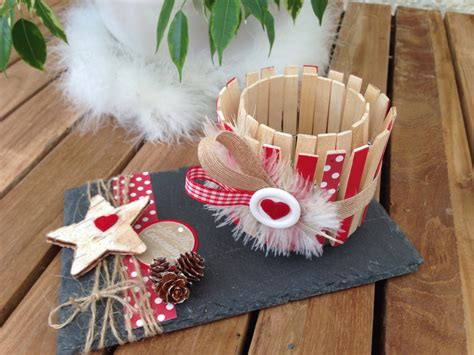 photophore pinces 224 linge st valentin navidad noel and bricolage