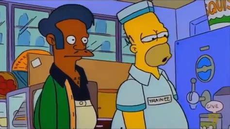 Homero Trabajando En El Minisuper Los Simpsons Latino