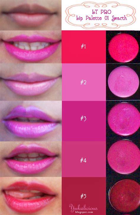 Harga Lt Pro Lipstick Palette yukalicious review swatch lt pro lip colour palette 01