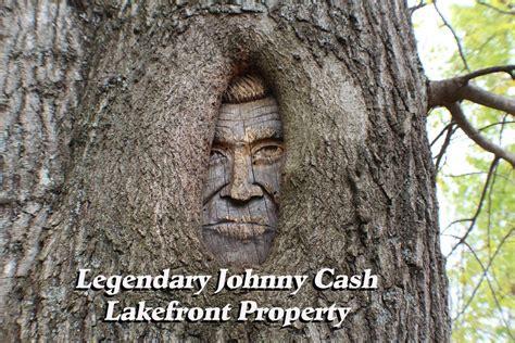 johnny cashs famed lakefront property  sale houston