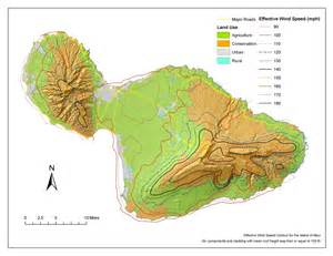 Maui Topographic Map