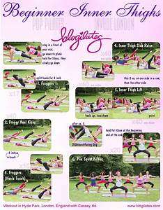 Inner Thigh Workout Printable! – Blogilates