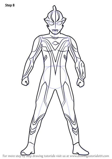 learn   draw ultraman mebius ultraman step  step