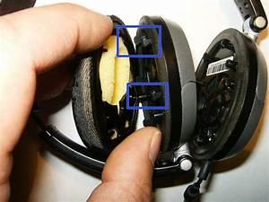 Repairing Bose On-ear Headphones Wiring