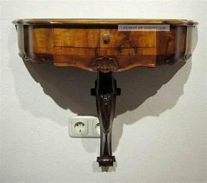 Konsolentisch Antik : wandkonsole konsolentisch mit schubfach antik ~ Pilothousefishingboats.com Haus und Dekorationen