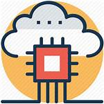 Cloud Icon Software Server Networking Based Database