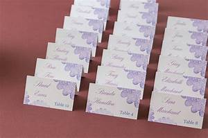 these pretty purple place cards are so easy to do yourself With avery labels 3x2 template