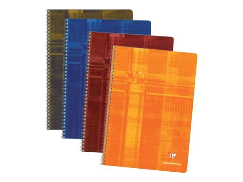 calculatrice de bureau clairefontaine cahier spirale a4 180 pages grands
