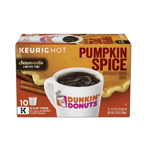 Dunkin' hot coffee w/ cream & sugar. Amazon.com : Dunkin' Donuts Hazelnut Flavored Coffee K-Cup Pods, For Keurig Brewers, 60 Count ...